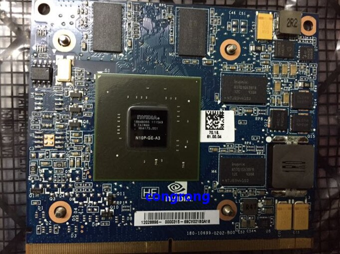 GT230M N10P-GE-A3 видеокарта для HP 8540W 8540P 8560W 8770W дисплей графическая карта