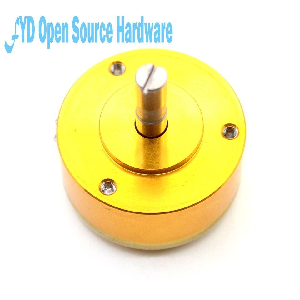 1 шт. WDD35D-4 прецизионный токопроводящий пластиковый потенциометр Датчик углового смещения 1K 2K 5K 10K линейный 0.5%