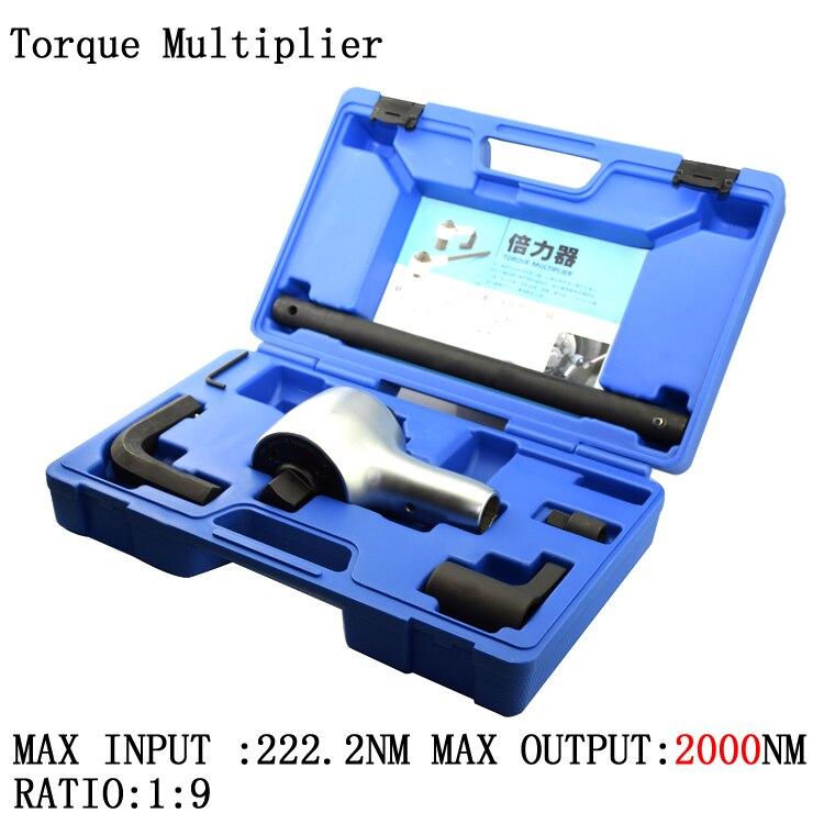 Taiwan Fabricação Torque Chave Relação 1:9 Multiplicador 11711 2000nm Entrada Máxima 222nm