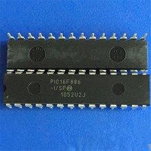1 pçs/lote PIC16F886-I/SP PIC16F886-I PIC16F886 DIP28