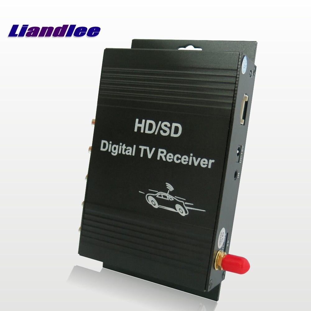 Car Digital TV ATSC Receiver D-TV Mobile HD Turner Antenna Host For Hyundai For KIA For Ford For Chevrolet For Volvo