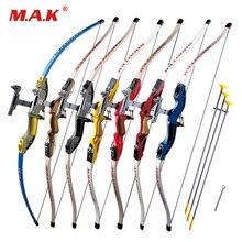 Envoyer des arcs recourbés avec 3 pièces Scuker flèches pour enfants Sports de plein air sûrs jeu de tir pratique de chasse