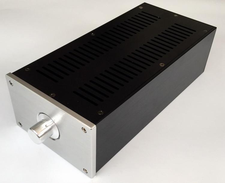WA46 MINI Alumínio de ALTA FIDELIDADE de Áudio Amplificador De Potência Chassis/AMP Shell/LIFIER Caso/Caixa DIY (148*92*310mm)
