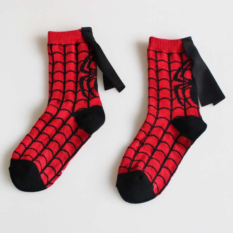 4 пары Новое поступление детские футбольные носки для девочек Забавный косплей
