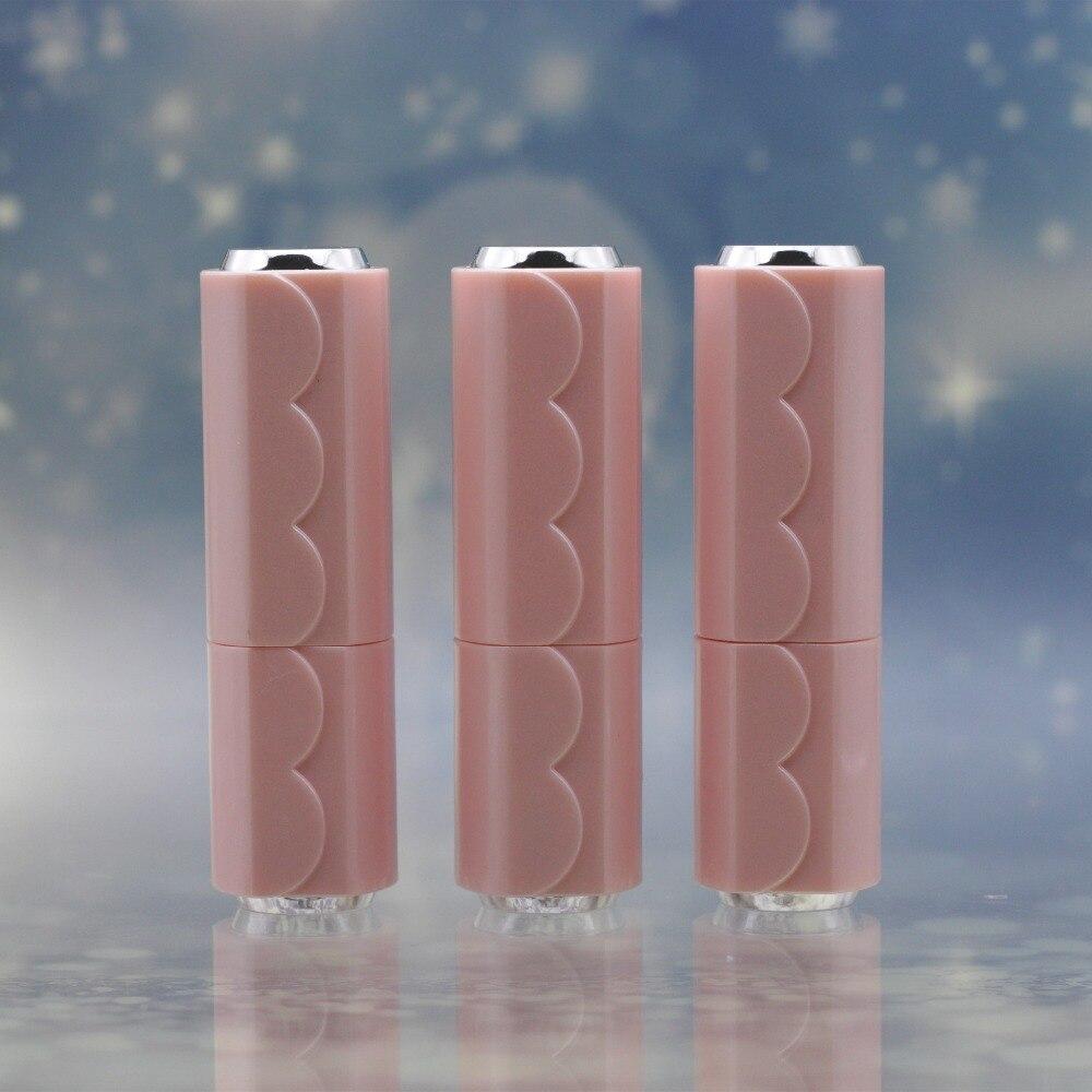 12.1mm DIY Empty Pink Lipstick Tube Travel Elegant Lip Balm Gloss Batom Tubes Refillable Bottles for
