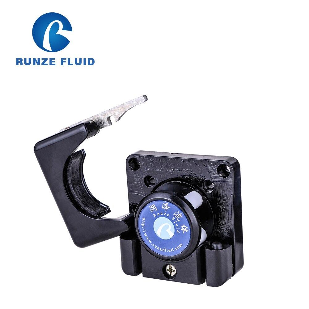 RZ1030 Mini Peristaltic Pump Head Tubing Easy Replaceable 2*4mm 3*5mm Silicon/Rubber/Viton