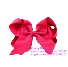 Free Shipping Wholesale 50pcs Beautiful Girls Large Hair Bow Hair Clip