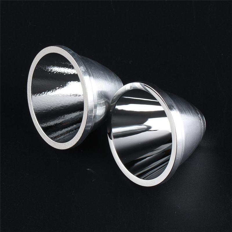 Nuevas pantallas de lámpara de copa reflectora DIY de repuesto para linterna LED M3 con diámetro de reemplazo de 43,9mm