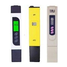 3 unids/lote diseño de pluma TDS + herramienta de medición TDS y probador EC 0-5000ppm + medidor de PH comprobador de ácido de agua prueba de calidad para la escuela 20% de descuento