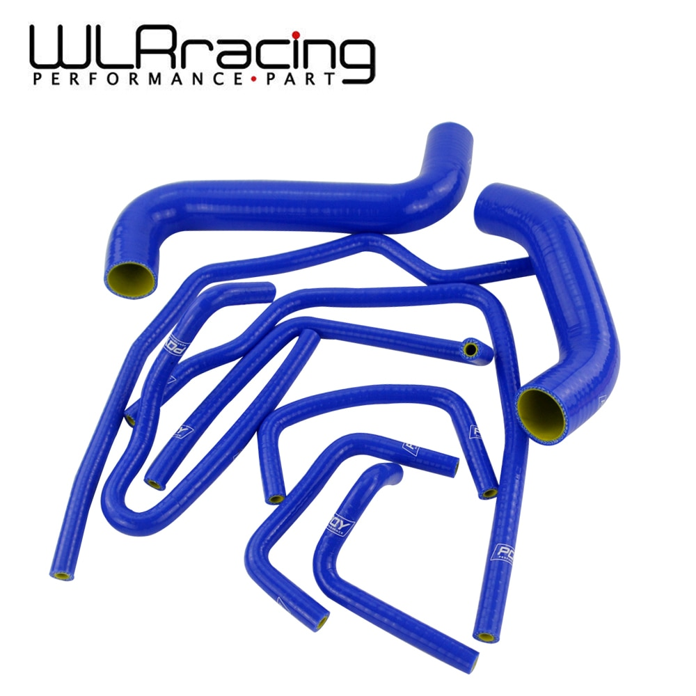 WLR سباق-9 قطعة سيليكون المبرد توربو عدة خرطوم مبرد بيني ل 02-07 سوبارو امبريزا WRX/STi GDA/ GDB EJ20 WLR-LX1803C-QY