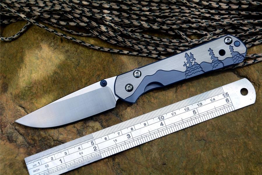 Merk Kleine Sebenza 21 Zakmes Survival Hunt D2 Folding Blade Patroon Titanium Handvat Gift Mes
