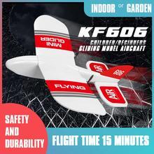 KFPLAN KF606 2,4 Ghz 2CH EPP Mini planeador RC interior avión Builtin Gyro RTF buena flexibilidad, fuerte resistencia a la caída