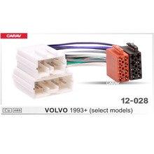 CARAV 12-028 ISO adapter radiowy dla/VOLVO 1993 + (wybrane modele) kable w wiązce złącze wtyczka kabla