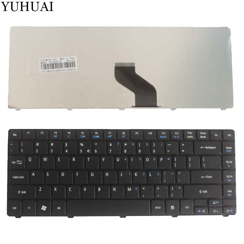 Novo para acer aspire 4251g 4352 4352g 4560 3750 3750z 3750g 3750zg 4253g 4750z 4750zg eua preto teclado do portátil