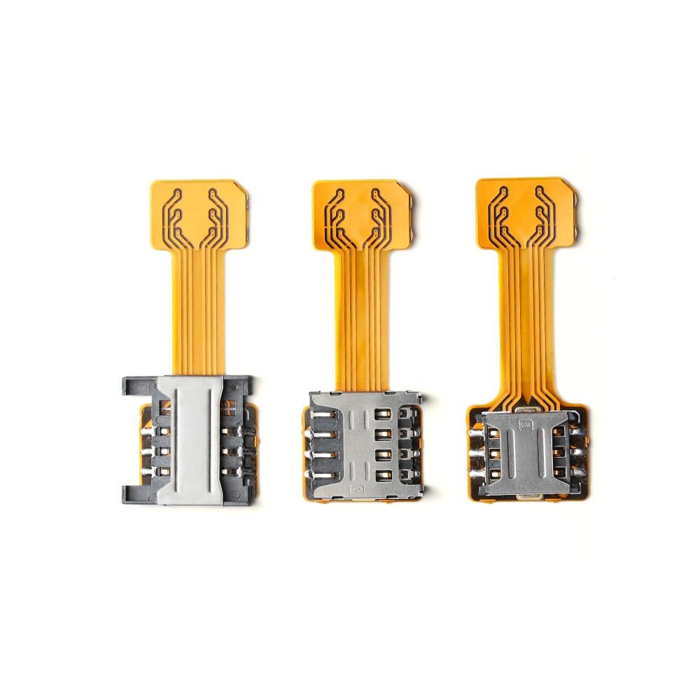 Nano Micro SIM Adaptador para XIAOMI REDMI nota 3 4 4 s híbrido Doble tarjeta SIM Dual Micro SD adaptador para Android Extender 2