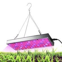 Panneau à spectre complet lampe de culture avec IR & UV AC85-265V LED lampe pour plantes dintérieur fleurs semis 25W LED poussent des lumières
