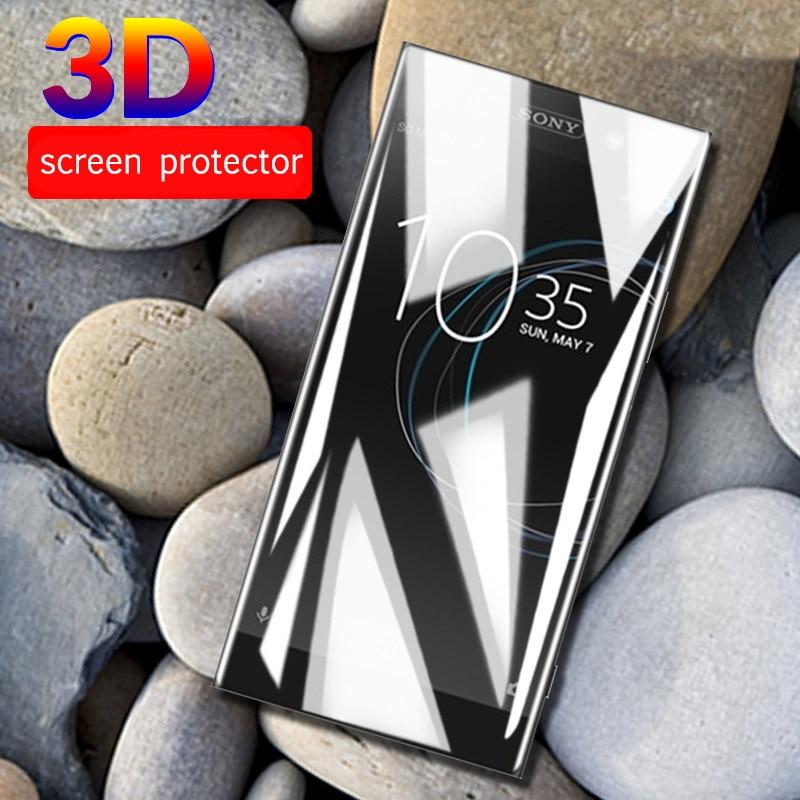 3D Curved For Sony Xperia XA1 Plus L3 10 XA2 Plus Tempered Glass For Soni Experia XZ4 XZ3 Ultra XZ Premium XA 1 Full Cover Films