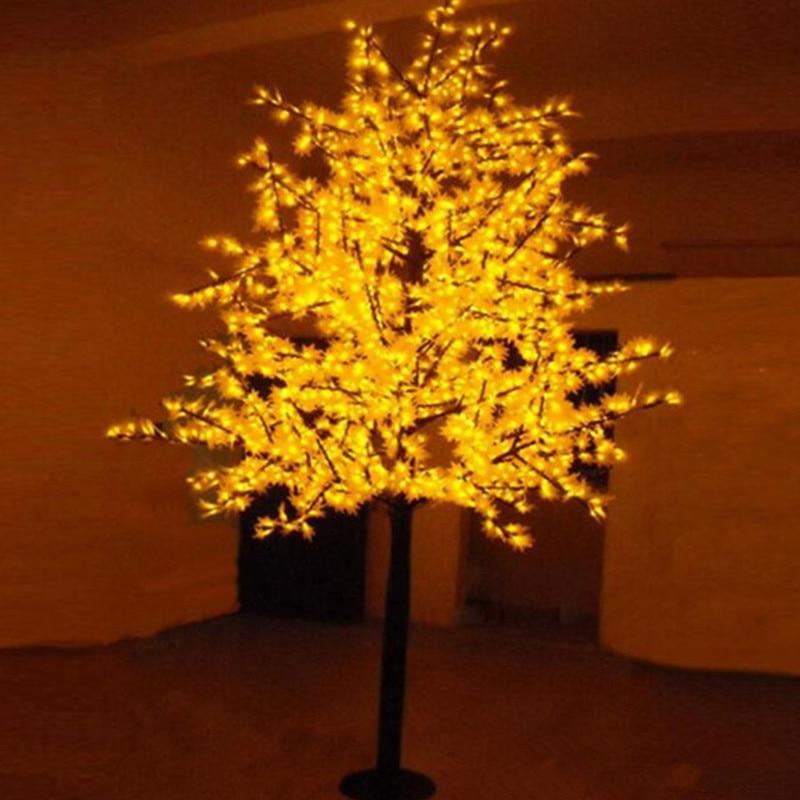 Free Shipping LED maple tree light,1.5M 636Leds Waterproof IP65 Led christmas tree light ,led holiday light AC110-240V