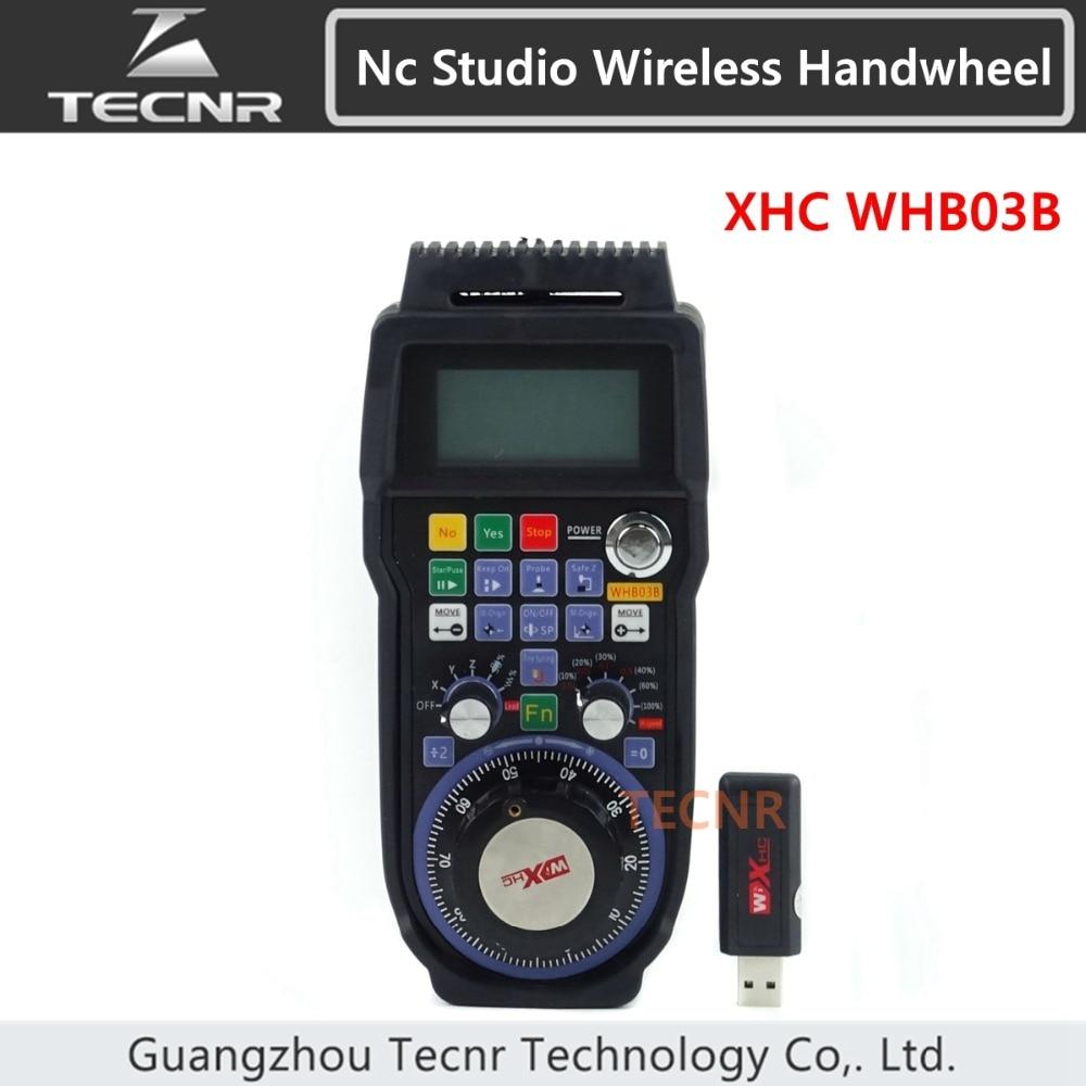 XHC NCStudio CNC маховик беспроводной nc studio MPG подвесной маховик для фрезерного станка 3 оси WHB03B