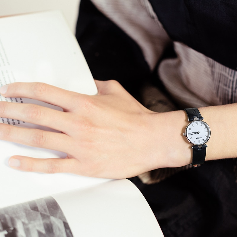 Ultra Slim Quartz Watches Women Business AGELOCER Brand Leather Analog Women's Fashion 2019 Watch relojes hombre enlarge