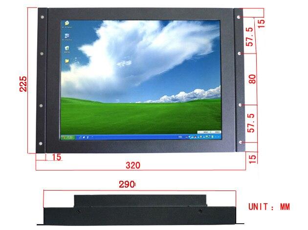 Xintai Touch-شاشة لمس للمنشار الصناعي بإطار معدني مفتوح ، شاشة تعمل باللمس مقاس 12 بوصة ، ضمان لمدة سنة