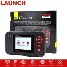 LAUNCH X431 obd2 Code Reader Scanner Creader VIII Comprehensive Diagnostic Instrument Tool for ENG/ABS/SRS/AT+ Oil/EPB/SAS reset