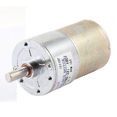 DC12V 150RPM 6 مللي متر قطرها رمح صندوق تروس مخفض للسرعة محرك كهربائي
