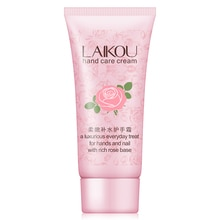 laikou Rose essence Hand Cream Autumn winter hands care tender Moisturizing Anti dry crack Brighten Skin Tightening 60g/pcs