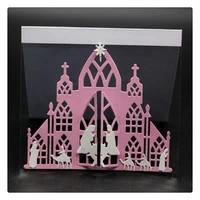 yinise scrapbook metal cutting dies for scrapbooking stencils church prayer diy album cards decoration embossing folder die cuts