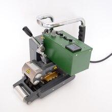 Machine chaude de soudure de cale pour les géotextiles techniques dépaisseur de 1-3mm comprenant le HDPE, le LDPE, le PVC, le PP.