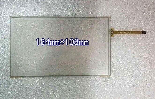 Новый 7,1-дюймовый автомобильный DVD сенсорный экран AT070TN83 84 A070VW04 сенсорный экран 164*103