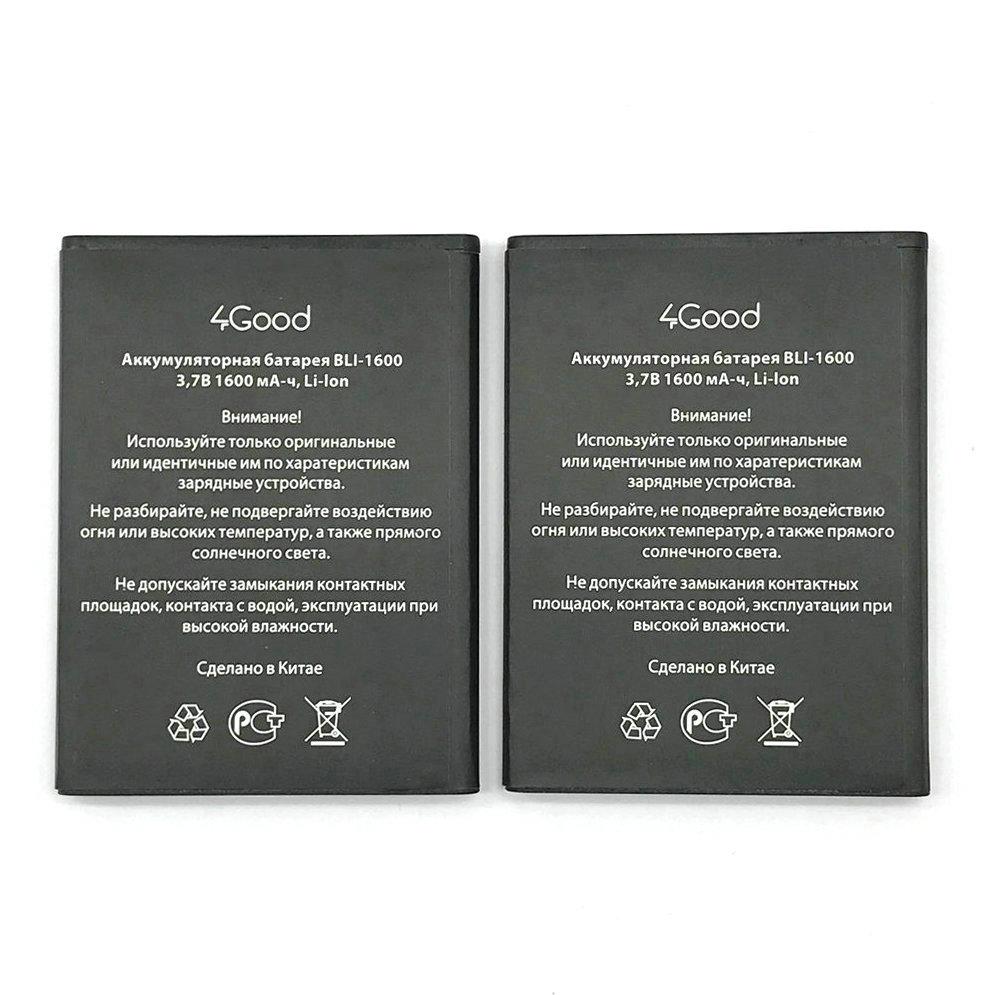 Batería de alta calidad BLI-1600 1600mAh para 4 buenos teléfonos móviles S450m 4G + código de seguimiento