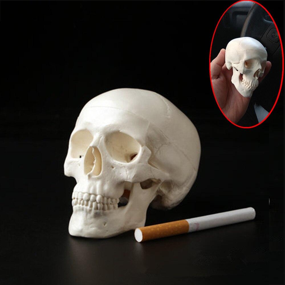 1pc mini crânio anatomia humana cabeça médica modelo conveniente 92*99*71mm