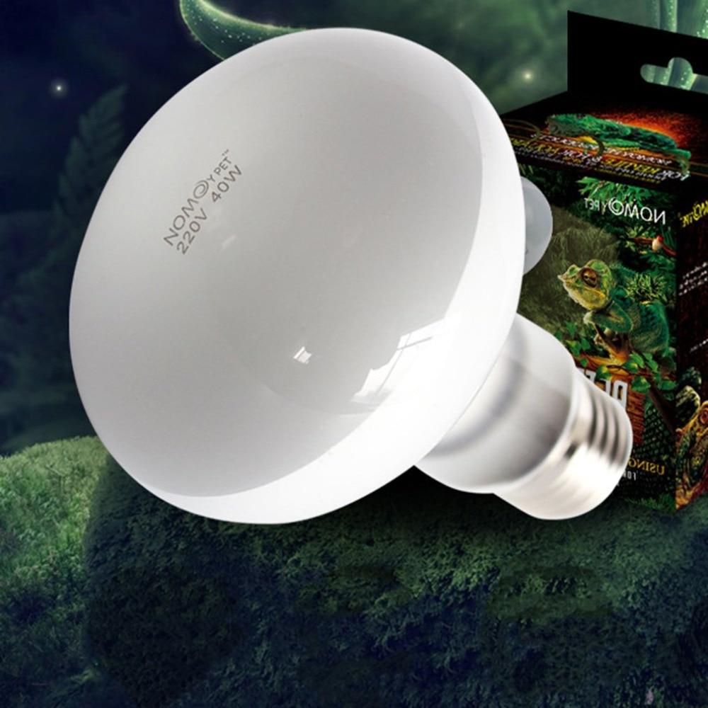Lámpara para reptiles UVA + UVB de 220 V, Bombilla para base de tortuga, bombillas de luz ultravioleta, lámpara de calentamiento, controlador de temperatura de anfibios lagartos