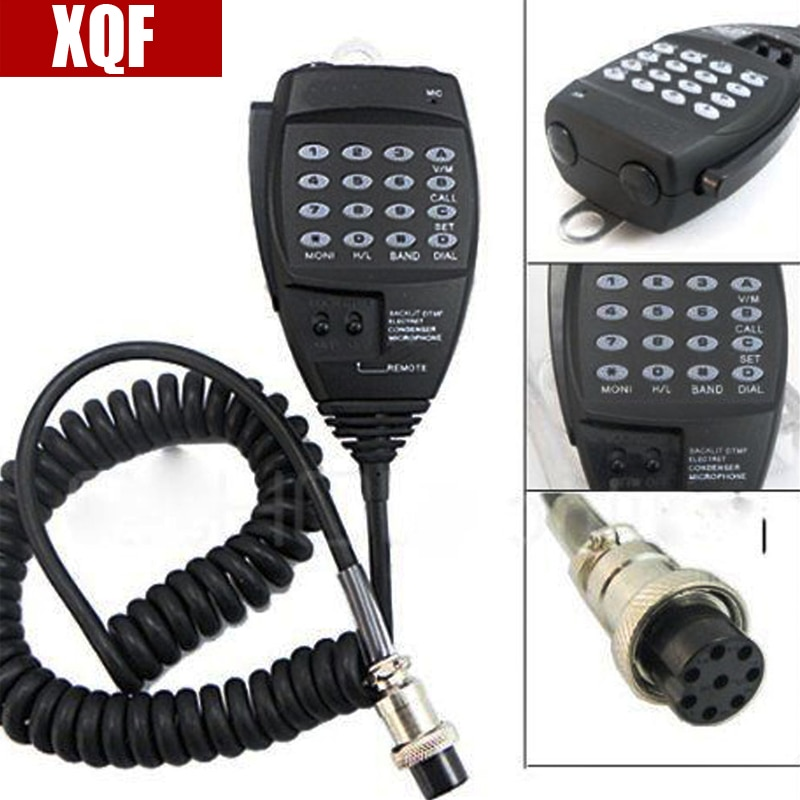 XQF DTMF динамик микрофон EMS-57 для Alinco DR135 DR235 DR425 DR635 DR435 DR06T радио