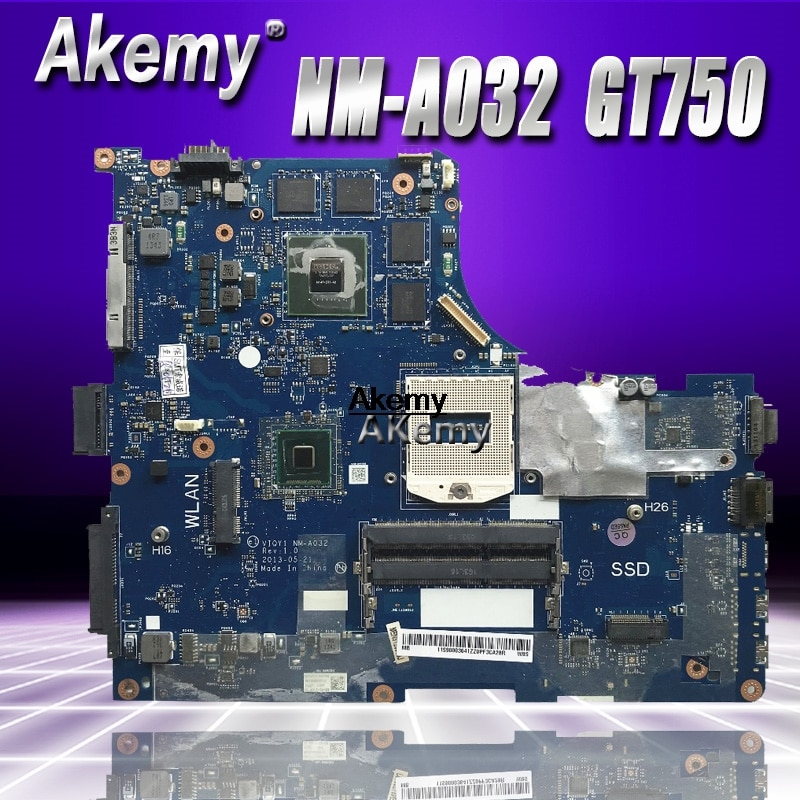 Y510P VIQY1 NM-A032 REV 1,0 Y510P материнская плата для ноутбука For Lenovo Y510P NM-A032 GT750 Тесты материнская плата Поддержка i7