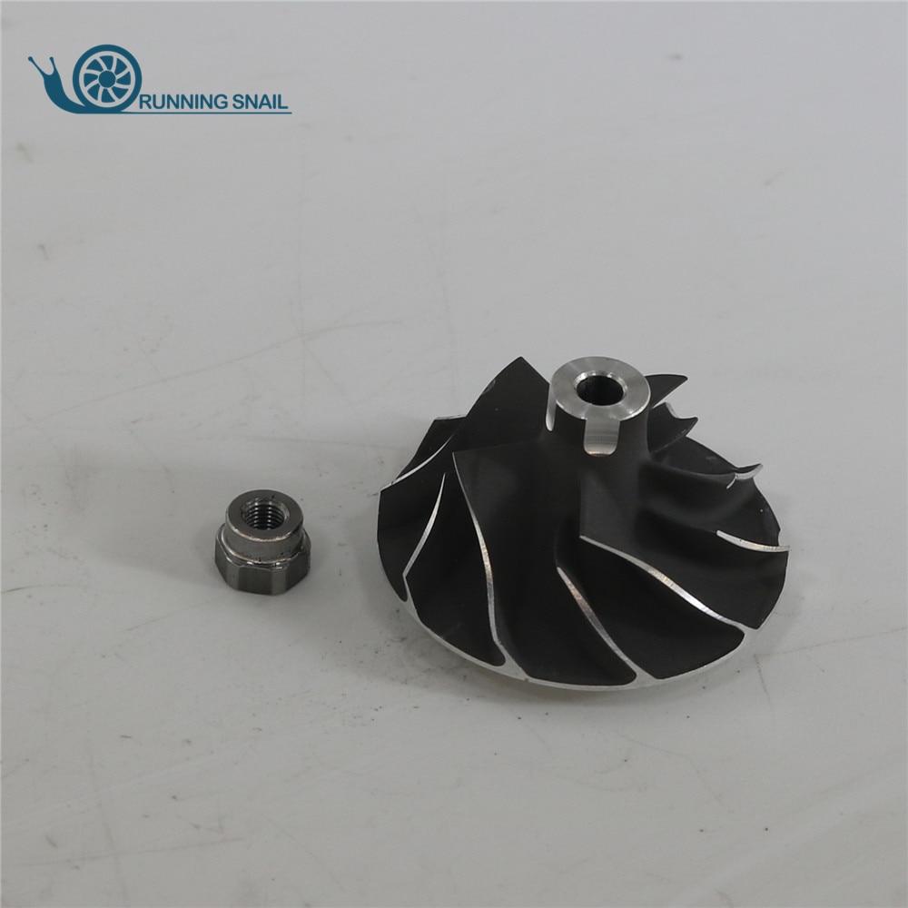 Rueda compresora de turbocompresor KP35 54359880005 para Doblo Idea Panda Punto 1,3 70 hp 73501343 71784113 5860030 93191993
