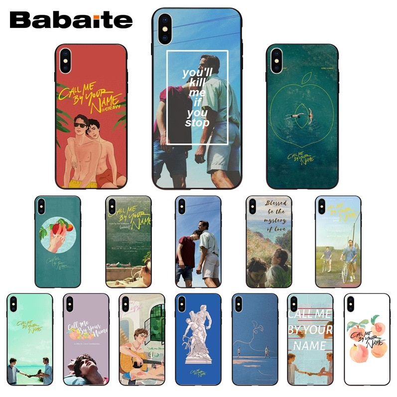 for iphone 11pro max Call Me by Your Name Soft Silicone TPU Phone Cover case for iphone X XS MAX 8 7plus 5S SE 6s XR Cover