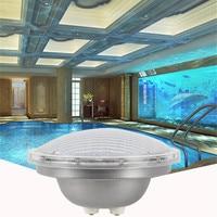 Led בריכת אור בחוץ עמיד למים IP68 מזרקת מנורת Par 56 12 V 25 W ססגוני בריכת זרקורים מנורת Foco led הפיסינה