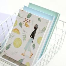 365 días personal planificador diario libreta diario de tapa dura 2017 Oficina horario semanal coreano lindo papelería, libretas y cuadernos