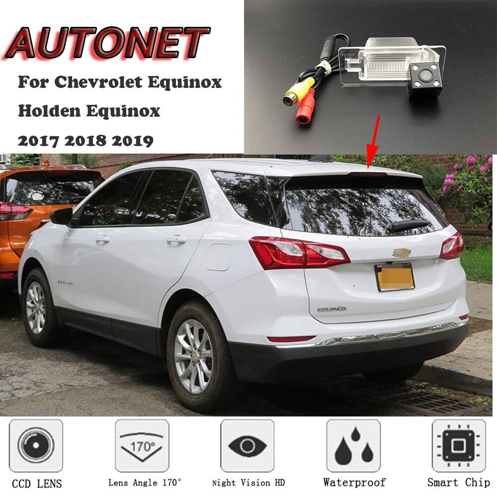 Cámara de visión trasera AUTONET para Chevrolet Equinox/Holden Equinox 2017 2018 2019 MK3/cámara para matrícula/cámara de aparcamiento