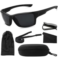 maxjuli sports sunglasses men travel outdoor cycling running black frame male sun glasses uv400 oculos de sol with case mj8014