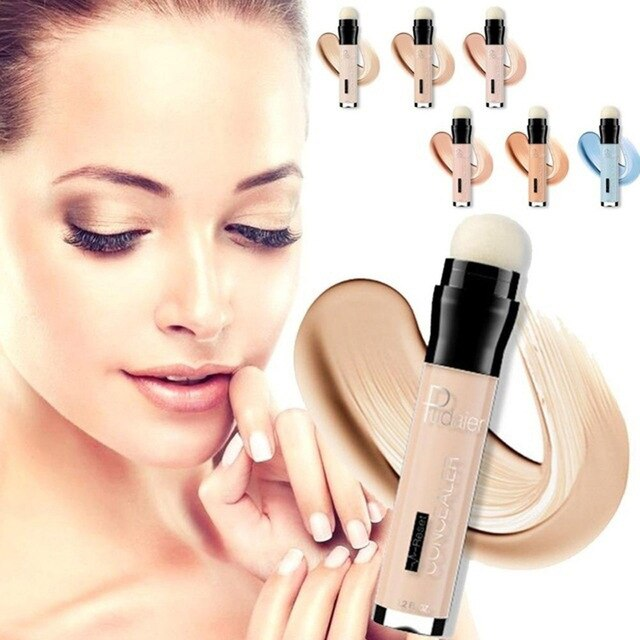 2018 Pudaier Lápiz Corrector a prueba de agua lápices ojos base Dark Circle poros cobertura completa maquillaje coreano