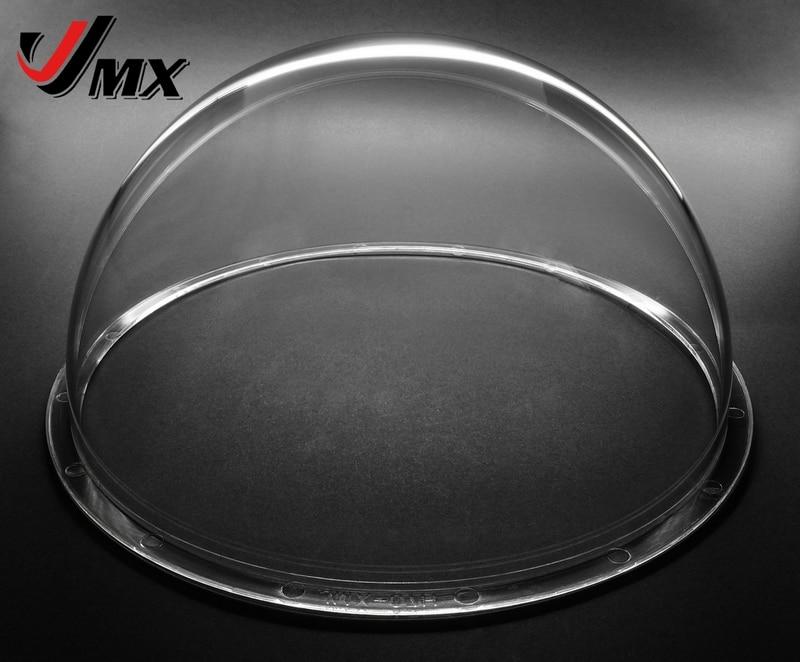 JMX 7 pulgadas acrílico interior/exterior reemplazo CCTV caja cúpula transparente para cámara