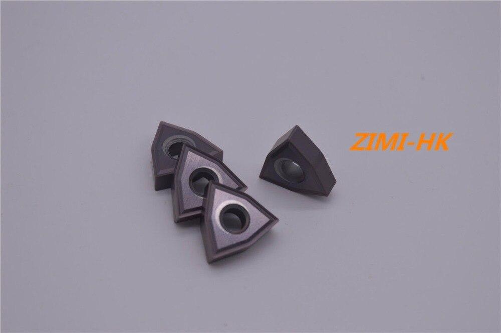 WNMG080404-MS VP15TF/WNMG431-MS VP15TF CNC شفرة ، مخرطة شفرة 10 قطعة