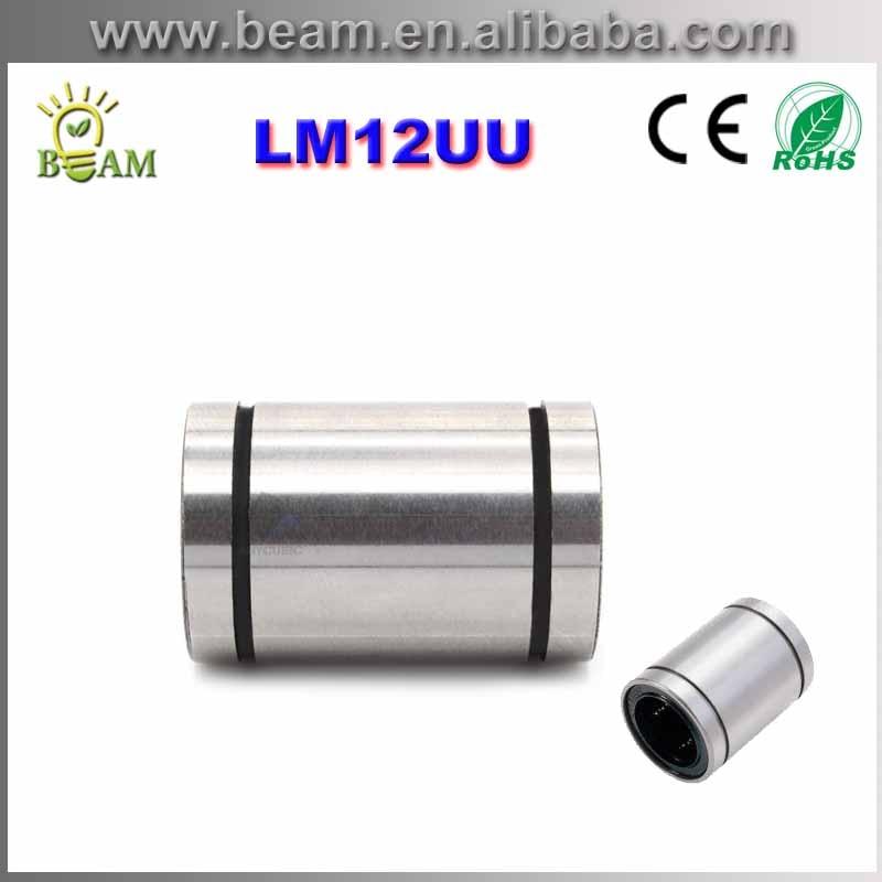 LM12UU 12mm Lineaire Kogellager Bus Lineaire Lagers CNC onderdelen 3d printer onderdelen LM12UU GRATIS VERZENDING