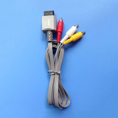 Cable compuesto de 3 RCA para Wii, 5 uds, Audio, vídeo, AV