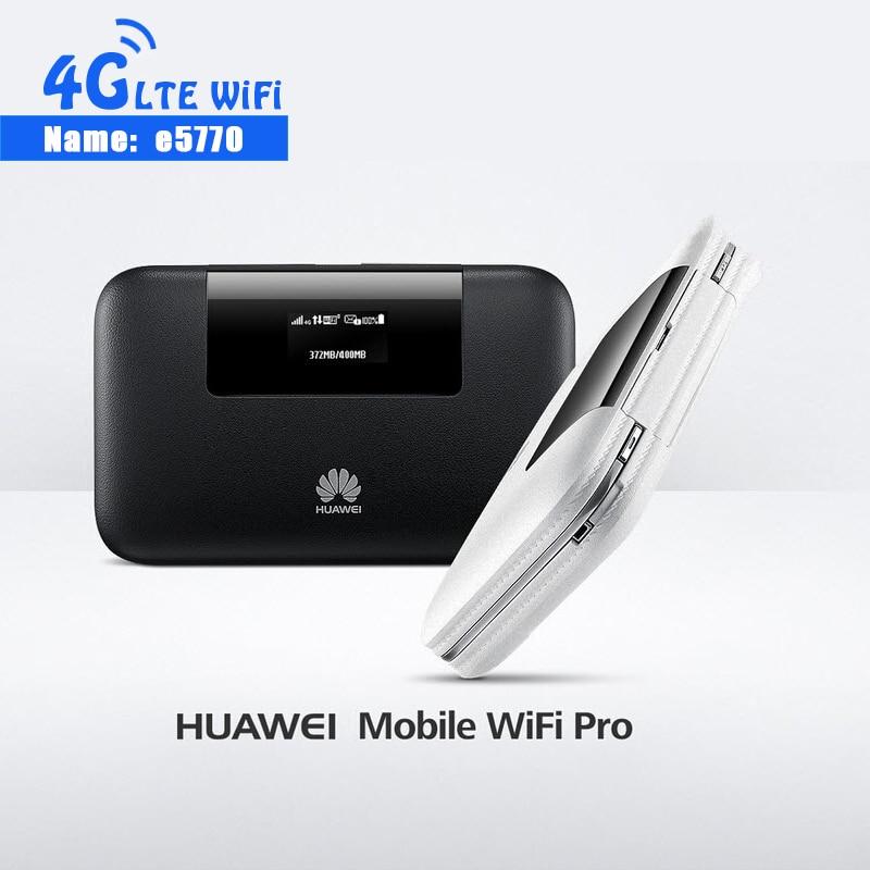 Новый 4G Мобильный Wi-Fi Pro Huawei E5770 E5770S-320 150 Мбит/с Mifi маршрутизатор с портом RJ45 + 5200 мАч банк питания Мобильная точка доступа