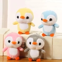 4 color penguin toys 10cm kawaii penguin plush stuffed toy doll cute animal plush toys gift baby toys home decor party gift