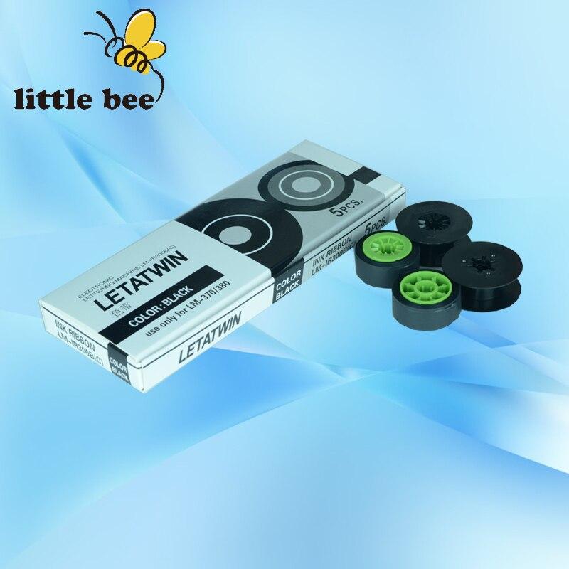 1 pièces livraison gratuite ruban dencre LM-IR300B pour MAX LETATWIN machine de lettrage électronique LM-370E, LM-380A, LM-380E, LM-390A/PC